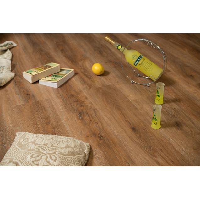 Виниловая плитка Alta Step Perfecto SPC8807 Дуб коричневый