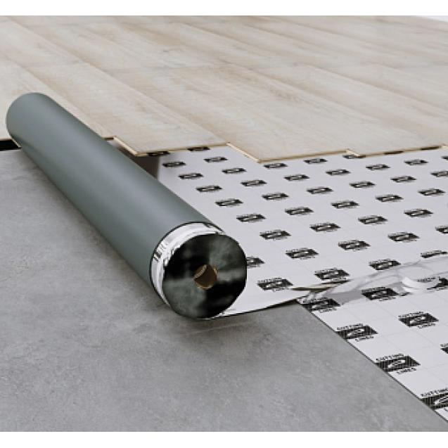 Подложка под ламинат и паркетную доску Arbiton Multiprotec Acoustic 2 мм (8 м² цена за рулон!)