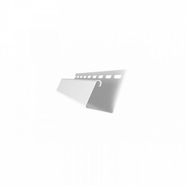 J-профиль универсальный Grand Line Я-фасад Белый