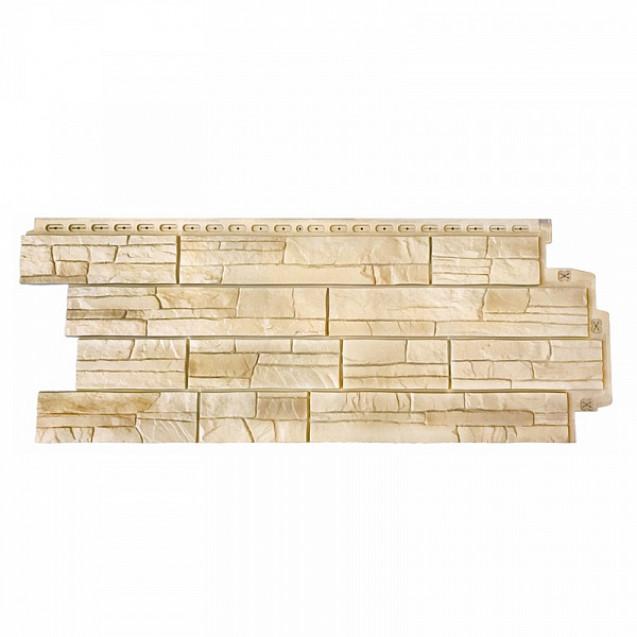 Фасадные панели Grand Line Сланец Элит FPGLS701 Пшеница