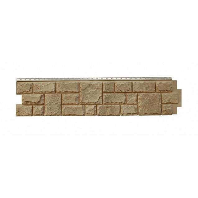 Цокольный сайдинг Я-фасад, Коллекция Екатерининский камень Песок