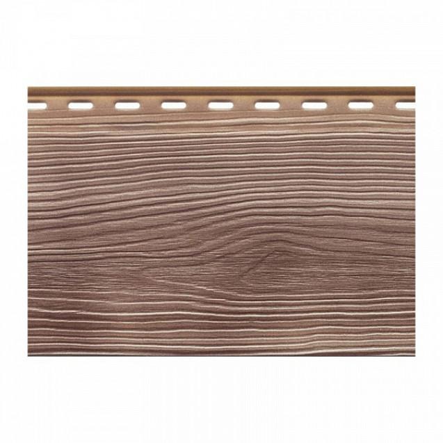 Вспененный сайдинг Альта-Профиль Альта-Борд Тимбер ВС-01 Мербау  Светло-коричневый