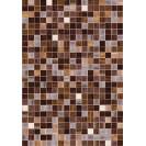 ПВХ панели с цифровой печатью Мозаика коричневая