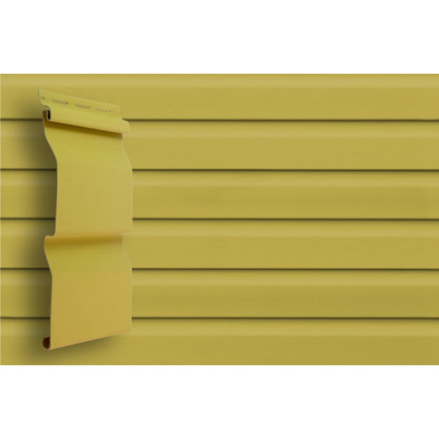 Виниловый сайдинг Grand Line D 4,4 Корабельный брус Классика Кремовый
