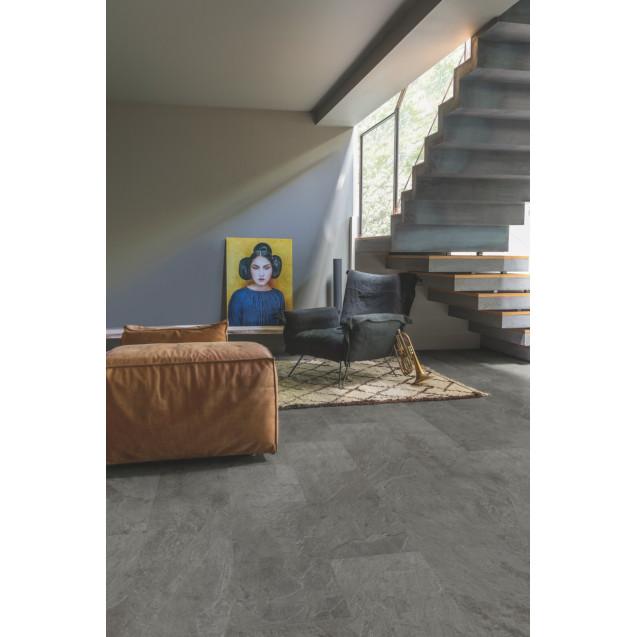Виниловый ламинат Quick-Step Ambient Click AMCL40034 Сланец серый