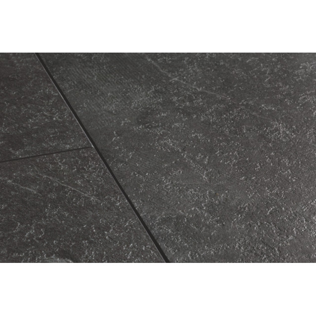 Виниловый ламинат Quick-Step Ambient Click AMCL40035 Сланец  чёрный