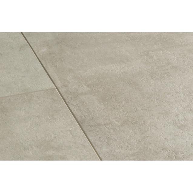 Виниловый ламинат Quick-Step Ambient Click AMCL40047 Травертин светло-серый