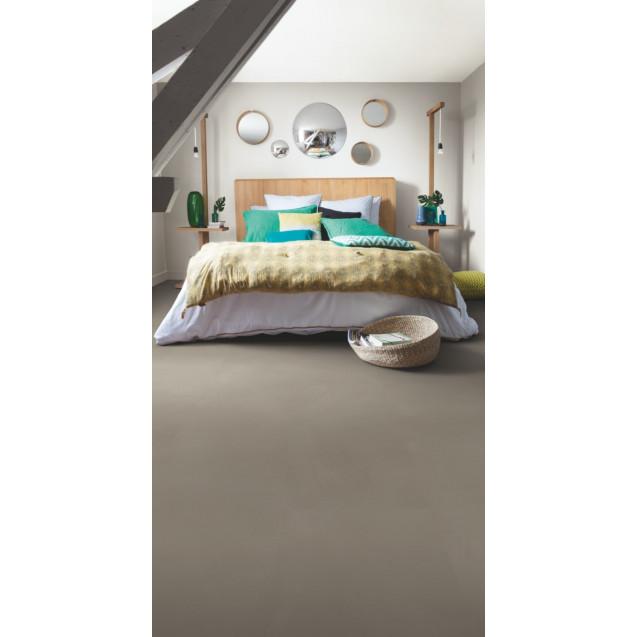 Виниловый ламинат Quick-Step Ambient Click AMCL40141 Шлифованный бетон темно-серый