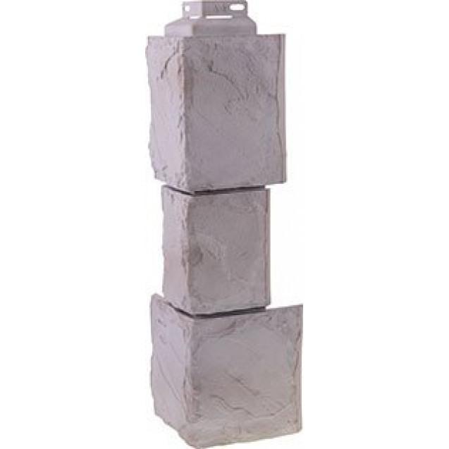 Угол FineBer Камень Крупный Белый