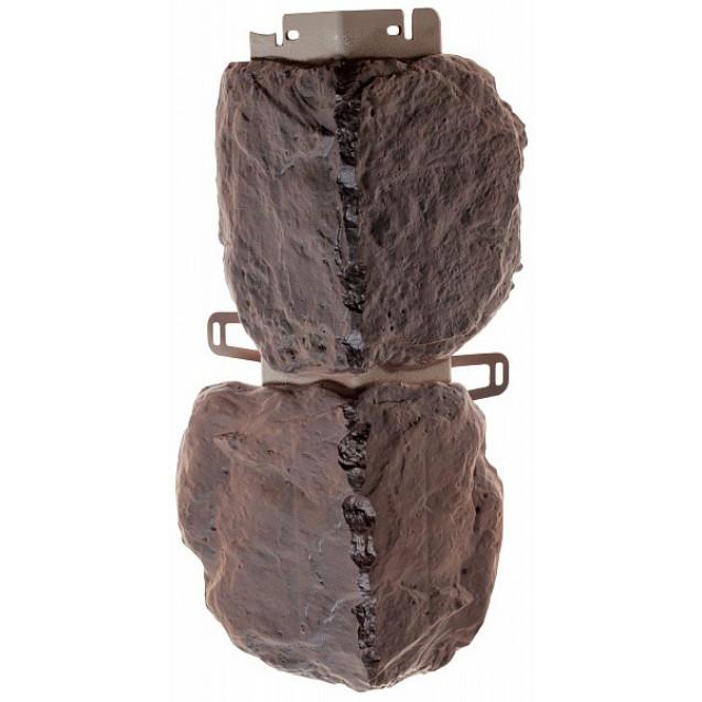 Угол наружный Альта-Профиль коллекция Бутовый камень, Датский