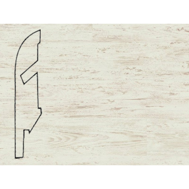Quick-Step Сосна белая затертая № 1235