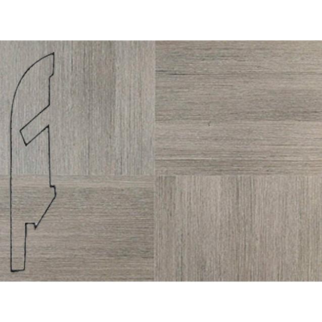 Quick-Step Плитка серая линованная № 1298