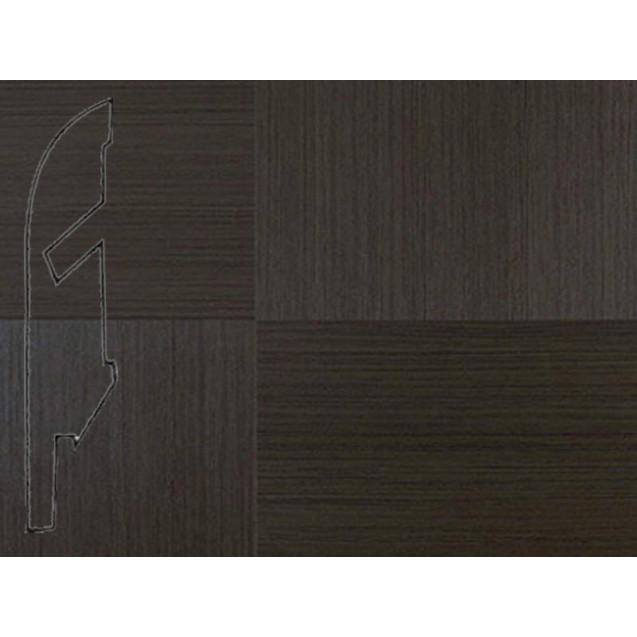 Quick-Step Плитка темная линованная № 1299