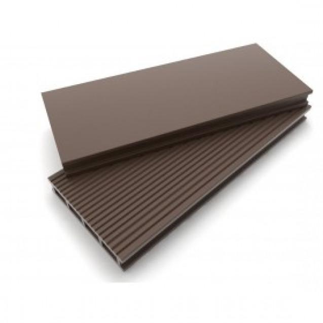 Террасная доска Dimdeck, Вельвет коричневый, 3 метра