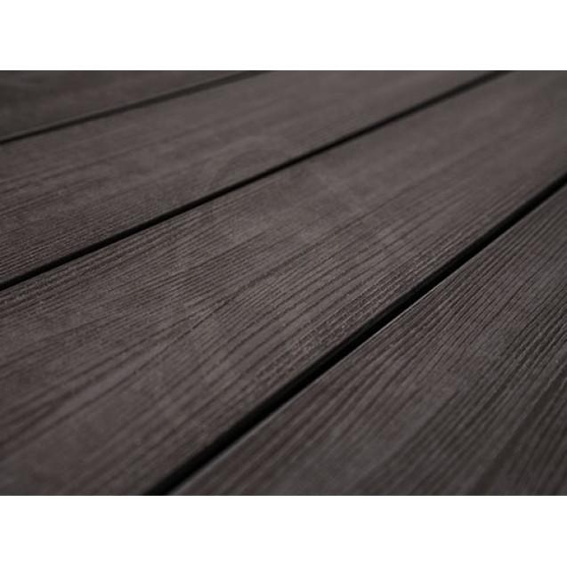 Террасная доска из ДПК Savewood Fagus (R) Радиальная 4 м, Темно-коричневый
