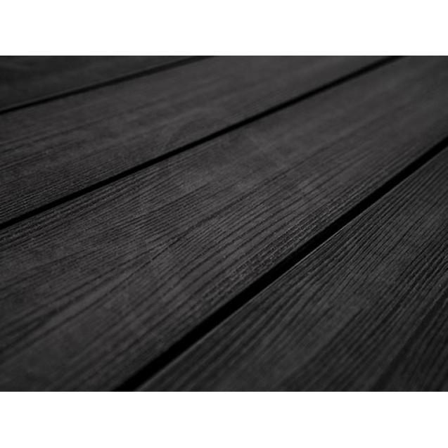 Террасная доска из ДПК Savewood Fagus (R) Радиальная 4 м, Черный