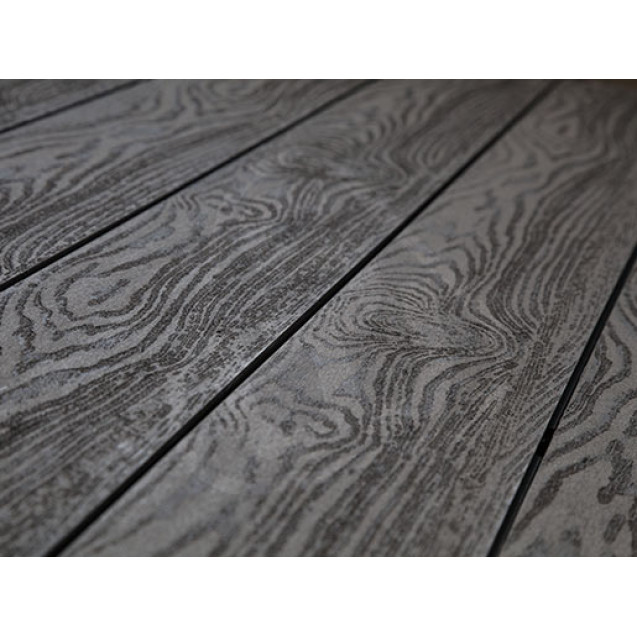 Террасная доска из ДПК Savewood Fagus (Т) Тангенциальная 4 м, Темно-коричневый