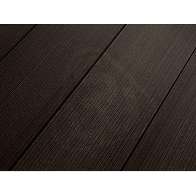 Террасная доска из ДПК Savewood Salix 4 м, Темно-коричневый