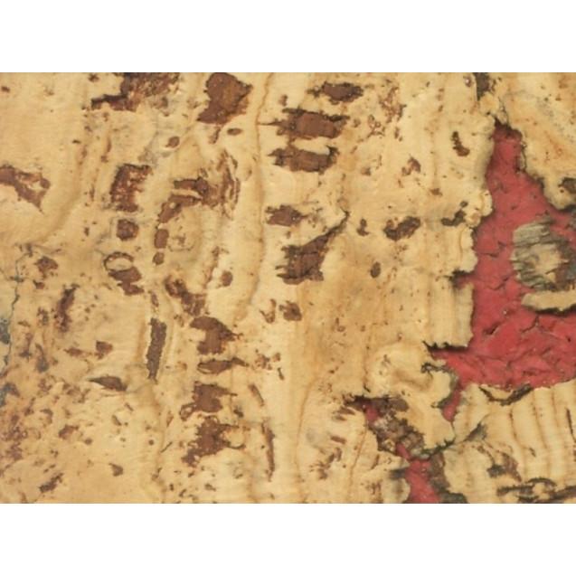 Пробковое покрытие Ibercork коллекция Настенная клеевая МАЛАГА РОХО BE 1700