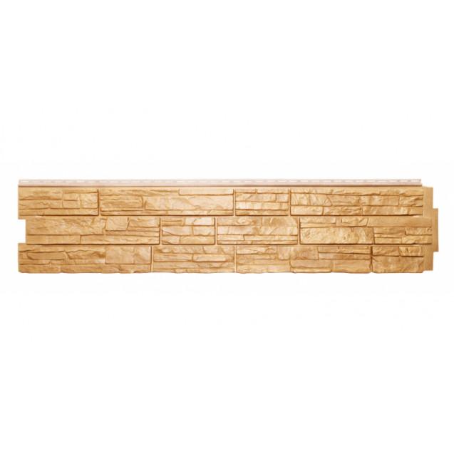 Цокольный сайдинг Я-фасад, Коллекция Крымский сланец Песок